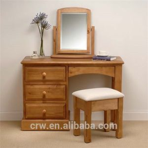 Style and Comfort Wooden Bedroom Furniture Dressing Table Set pictures & photos