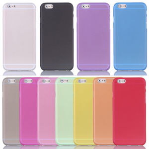 0.3mm Ultra Thin Clear Matte PC Skin Back Case Cover for iPhone5/6 pictures & photos