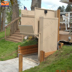 Small Home Elevators with Platform Height 1m pictures & photos
