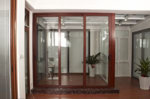 Sound Proof & Thermal Break Double Glazing Aluminum Sliding Doors