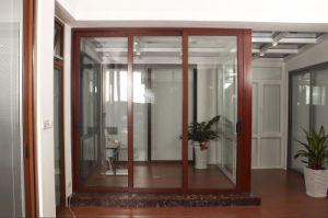 Sound Proof & Thermal Break Double Glazing Aluminum Sliding Doors pictures & photos