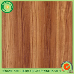 High Quality 304 Stainless Steel Sheet Wooden Grain Lamination for Hot Sale pictures & photos