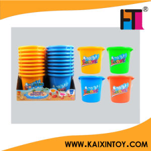 High Quality Color Children Plastic Beach Bucket pictures & photos