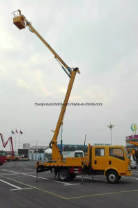 Jmc 12m Double Cab 4X2 High-Altitude Operation Truck Price pictures & photos