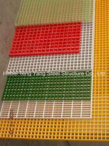 High Strength GRP Grids Construction Floor FRP Grating pictures & photos