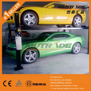 SUV Sedan Parking 4 Post Car Lift Factory Price pictures & photos