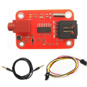 FM Radio Transmitter Module for Build Your Own Radio Station Arduino Compatible