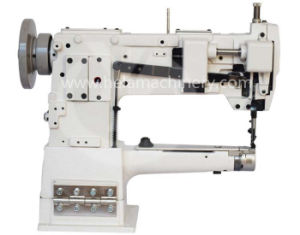 Unison Feed Cylinder Leather Sewing Machine with Single Needle pictures & photos