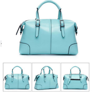 Patchwork PU Leather Women Handbags pictures & photos
