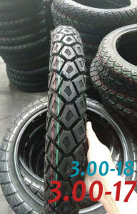 Motorcycle Tire Tyre Scooter Tire Keke Tyre Inner Tube ATV Tyre 3.00-17 pictures & photos