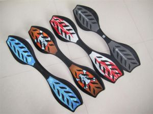 Rocket Wave Skateboard Withpu Wheel, ABS Material (et-sk2501) pictures & photos