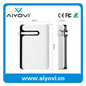 Promotional Wholesale 6000mAh Portable Power Bank with Bluetooth Earphone pictures & photos