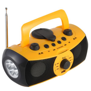Crank Dynamo Music Player with Light Xln (XLN-701)