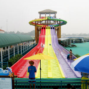 Water Park Octopus 6 Lane Fiberglass Waterslides pictures & photos
