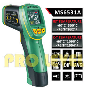 Pfofessional Accurate Non-Contact Infrared Thermometer (MS6531A) pictures & photos