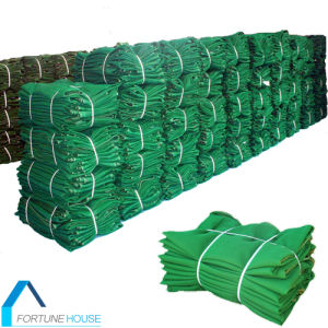 HDPE Green Construction Site Protection Safety Net/PE Plastic Windbreak Net pictures & photos