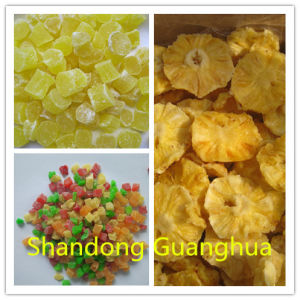Best Quality and Mixed Color Dried Pineapple Dices pictures & photos