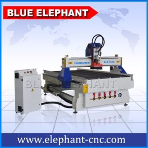 Ele1325b Electric CNC Router Metal Cutting Machinery with Mist Cooling System pictures & photos