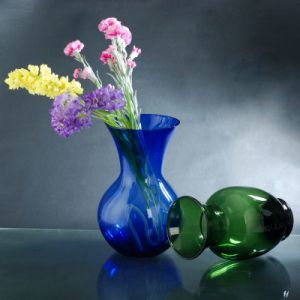 Sprayed Colored Glass Vase Wholesale pictures & photos