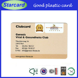 Ture Plastic Business Cards for Promote Yourself pictures & photos