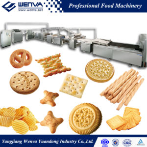 Wenva Multi-Purpose Full Automatic Biscuit Production Line pictures & photos