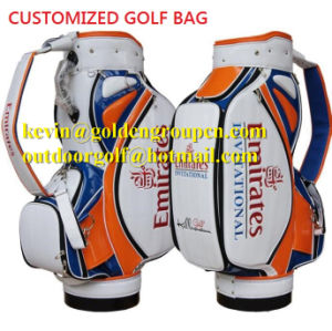New Custom Personalized Golf Bag Professional Men Women PU Caddy Bag Manufacture pictures & photos