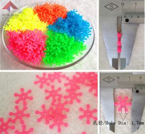 Fashion Jewelry, Fluorescent Beads (snow)