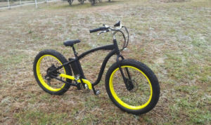2015 New Fat Tyre 26*4.0 Wholesale Electric Fat Beach Bike pictures & photos