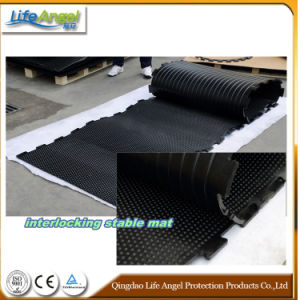 Wholesale Recycled Interlocking Horse Trailer Rubber Mats pictures & photos