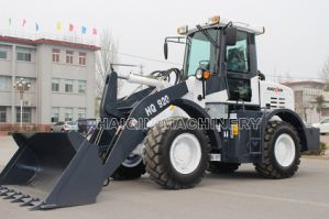China Hydraulic Small Shovel Loader (HQ920) with Cummins Engine pictures & photos