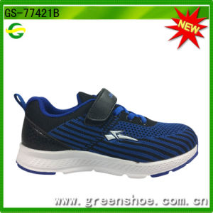 Latest Style Buckle Strap Stretch Breathable Air Cushion Sport Shoes pictures & photos