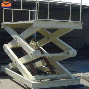 Hydraulic Elevator in Scissor Type Loading 1000kg pictures & photos