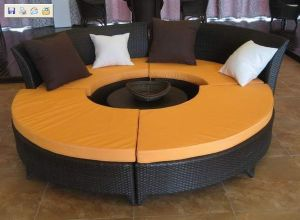 Rattan Furniture, Rattan Sofa, Design Sofa Set, Modern Outdoor Furniture Ms-114