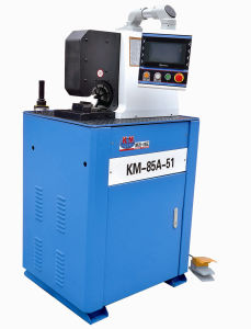 Side Open/ Side Feeding Type Hydraulic Hose Crimping Machine Available for Bending and Flange pictures & photos