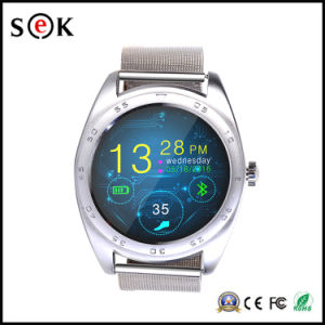 K89 Mtk2502 IPS Round Touch Screen Smart Sport Watch with Heart Rate for Ios & Android Mobile Phones pictures & photos