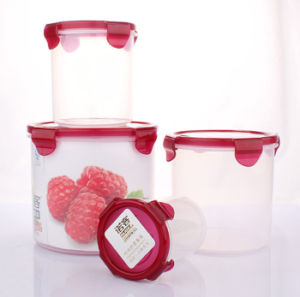 Plastic 4PCS PP Food Storage Container pictures & photos