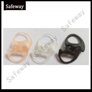 Replacement Silicone Earmold for Acoustic Tube Headset pictures & photos