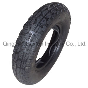 Air Rubber Wheel Tyre/ Wheelbarrow Tyre with Reach PAHs Certificate pictures & photos