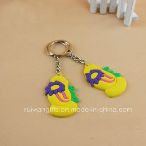 Soft PVC Rubber Souvenir Keychain pictures & photos
