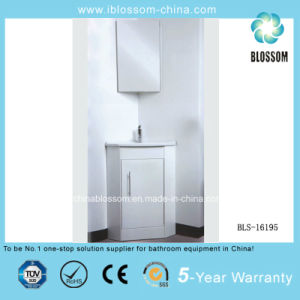 PVC Bathroom Cabinet, Vanity with Silver Mirror (BLS-16195) pictures & photos