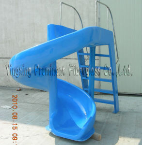 Water Park Curved Fiberglass Water Slide pictures & photos