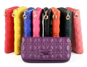 Wallet with Butterfly Stitching for Female pictures & photos