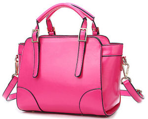 Fashion Women PU Leather Handbag with Hight Quality (078)