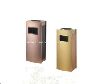 New Design Ground Ashtray Dustbin (DK124) pictures & photos