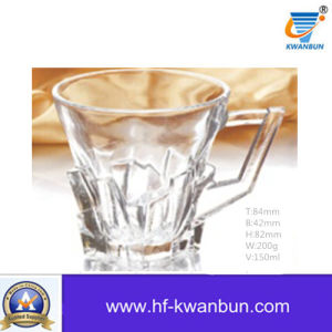 Glass Mug for Beer or Drinking Coffee Cup Kitchenware Kb-Jh06085 pictures & photos
