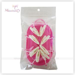 18.5*11 Cm Foldable Plastic Hanger pictures & photos
