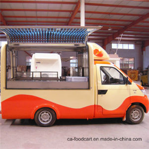 Gasoline Mobile Food Truck for Sale pictures & photos
