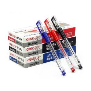Best Selling Plastic Gel Pen for Stationery 6600es