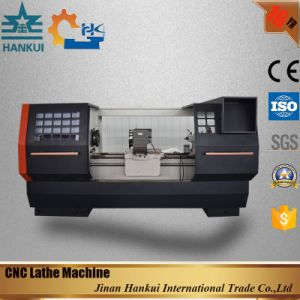 High Quality Flat Bed CNC Lathe (CKNC6136) pictures & photos