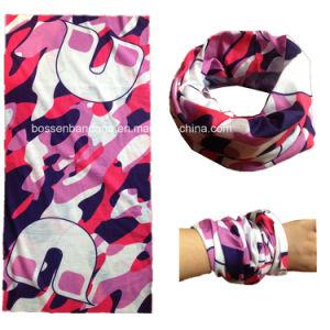 Factory OEM Produce Custom Made Microfiber Design Printed Multifunctional Tube Neck Gaiter pictures & photos